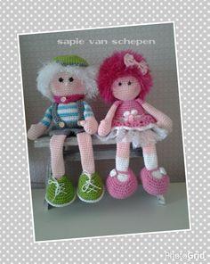 Amigurumi rag dolls. (Inspiration).