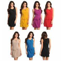 Check out this SLEEVELESS COCKTAIL PARTY EVENING CASUAL PEPLUM DRESS only $11.5 including 5% cash back. Awesome! http://wkup.co/cash_back/MTEyMzkzODE1Nw==/MTE3MzYwNw==