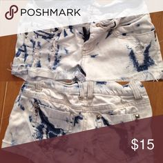 Love Culture short White washed bleached looking short Love Culture Shorts Jean Shorts