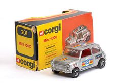 Mettoy Corgi diecast No.201 Mini 1000