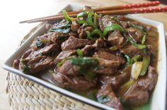 "carne ""mongoliana"" facil"