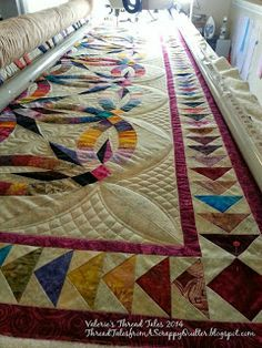 Thread Tales from a Scrappy Quilter: Bali Wedding Star update