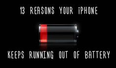 13 Reasons Your iPhone Keeps Running Out Of Battery