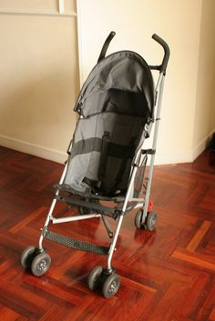 4,000 Baht. Excellent for travel and folds so that it is nice and compact. Storage basket at the back. Comes with a rain cover. Purchased in Australia. Very handy stroller suitable up to 3 years+.   (Loving this stylish stroller | Amazing functionality)