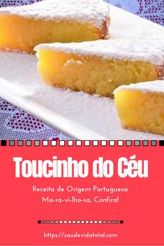 Kitchen Recipes, Cooking Recipes, Portuguese Recipes, Herbal Remedies, Herbalism, Recipies, Brunch, Food And Drink, Sweets