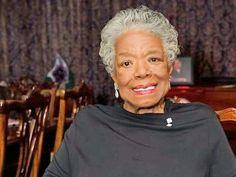 A beautiful photo the aged of Maya Angelou~Kai