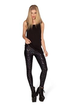 Creep Leggings - LIMITED by Black Milk Clothing $75AUD