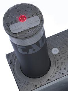 Dissuasore automatico di passaggio mod. T-STOP.  Oil-hidraulic bollard.
