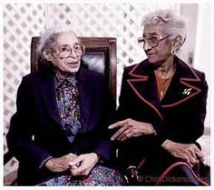 Lifelong friends and Alpha Kappa Alpha Sorority members, Rosa Parks, civil rights icon, and Mahala Ashley Dickerson, first black female lawyer in the state of Alabama and in the state of Alaska.