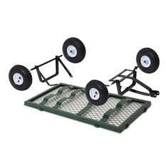 Mesh Garden Cart Steel Removable Sides Trolley Wagon ATV Trailer Balck Gardeon - 9350062147580 For Sale, Buy from Wheebarrows & Garden Carts collection at MyDeal for best discounts. Metal Projects, Welding Projects, Yard Tractors, Best Atv, Garden Cart, Atv Trailers, Welding Cart, Fifth Wheel Trailers, Utility Cart