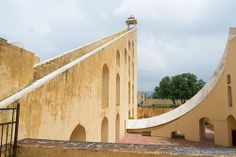 "The world's oldest observatory, Jantar Mantar - a ""Unesco World Heritage site"" located in Jaipur, India"