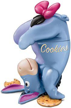 Eeyore Pictures, Winnie The Pooh Pictures, Winne The Pooh, Disney Cookies, Bradford Exchange, Disney Home Decor, Cookie Crumbs, Vintage Cookies, Cookie Jars