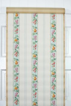 This roll of wallpaper is an authentic, old stock roll from the 1930s. It is priced by the double roll. One double roll will cover approximately 50 sq. ft.