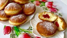 Pączki serowe w 5 minut! - Blog z apetytem Holiday Baking, Pretzel Bites, Oreo, Hamburger, Blog, Sweet, Cakes, Diet, Candy