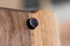 Black walnut button detail. Photo by Stuart Mullenberg. Oxbox wine preservation system preserves your favorite bottle of wine so you can enjoy one glass at a time while the rest stays fresh. Handcrafted in the Pacific Northwest with sustainably harvested American black walnut. It's a whole new take on boxed wine. $695