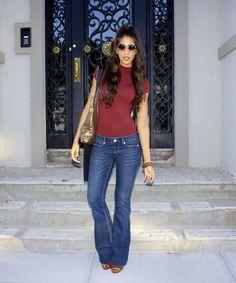 260ec9761df5 Terracotta - The Style Contour Wide Trousers, Wide Leg Jeans, 70s Fashion,  Denim