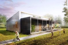 Upcycle House: Lendager Architects Building $175,000 Home Entirely from Recycled Materials in Denmark