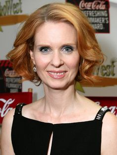 """Cynthia Nixon - Cynthia is a lot of things: she's one of the Sex in the City fab four, a mother, and an openly gay woman. But a natural redhead she is not. According to The Advocate, """"Nixon also says that red hair is purely a Miranda thing -- she eases her way back to blond when Sex isn't filming."""""""