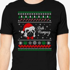 Ugly Christmas Sweater Bah Humpug Men's T-shirt is designed by Dana and printed in U.S. Available in many colors and sizes. Shipped in 1-2 days. Buy this item at Customon - Custom t-shirt printing company!