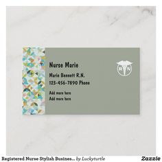 Caregiver Business Card Templates