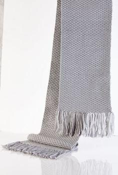 Scarf Handwoven scarf Long scarf Warm scarf Winter by OrlyWeaving