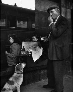 "2000-lightyearsfromhome: "" "" Herbert List Termini Railway Station, Rome 1950 "" """