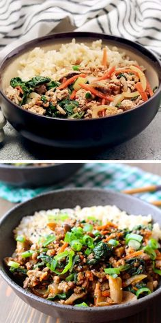 This easy ground pork stir fry is the PERFECT weeknight dinner! Brown ground pork with seasonings and stir in your fav Ground Pork Sausage Recipes, Ground Pork Recipes Easy, Pork Recipes For Dinner, Recipe Using Pork Sausage, Pork Dinner Ideas, Recipe Using Ground Pork, Ground Sausage, Asian Recipes, Meat Recipes