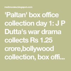 With a dull opening day collections of Rs 51 Lacs at the
