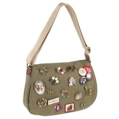 Cath Kidston bag with pins