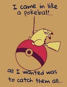 Everyone who plays Pokemon GO feels this way. Everyone who plays Pokemon GO feels this way. Really Funny Memes, Stupid Funny Memes, Funny Relatable Memes, Funny Texts, Funny Shit, Funny Memes 2017, Pokemon Funny, Cute Pokemon, Pikachu Memes