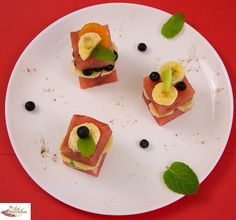 Fun food art fruit petit fours