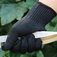 Mama   Anti Stainless Steel Wire Safety Work Anti-Slash Cut Static Resistance Protective Gloves Polyester Fistfight Riot Gear