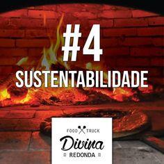 #4 SUSTENTABILIDADE Ao contrário do que muitos pensam a lenha quando de procedência e certificada é o melhor combustível para preparar os alimentos. Primeiro pelos fatores citados nas postagens anteriores mas por ser uma energia renovável e não fóssil e que gera o mínimo de resíduos que podem ser utilizados para fertilizar hortas. #fornoalenha #divinaredonda #pizzatrailer #pizzacomfrescura #pizza #sustentabilidade #foodporn #foodtrucksalvador by divinaredonda http://ift.tt/25rjj6f