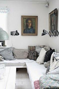 χτιστοί καναπέδες