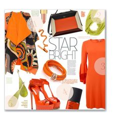 """Orange' You Stylish !!"" by jckallan ❤ liked on Polyvore featuring Emilio Pucci, Michael Kors, Casadei, Mulberry, Michael Kanners, Cruciani, de Grisogono, NARS Cosmetics, Kevyn Aucoin and Martha Medeiros"