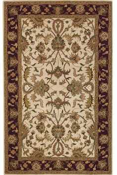 look at in blue Aristocrat Rug Hand tufted Rugs Traditional