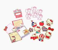 Hello Kitty Scrapbooking Kit: Air Mail