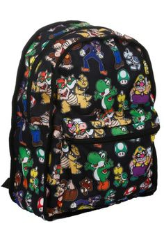 08c3482320c4 Reversible Super Mario Brothers Backpack Super Mario Bros Costumes