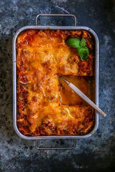 Tasty Vegetarian Recipes, Veggie Recipes, Dinner Recipes, Veggie Food, Anti Inflammatory Recipes, Mozzarella, Veggies, Food And Drink, Pasta