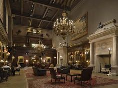 Harvard Club, NYC. This is our cocktail hour room, love it so much!