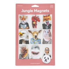 Jungle Magnets - DOIY online - Kids & Teens webshop Goldfish.be - Goldfish Kids Web Store Mechelen