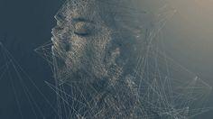 Shattered, Geometric Portraits Of People Forming And Fragmenting Artist Branding, Plastic Art, Cool Artwork, Amazing Artwork, Generative Art, Portraits, Design Art, Graphic Design, Illustration Art