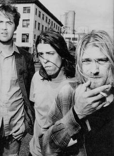 Nirvana. The greatest band of the 90's!