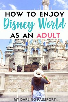 How to Enjoy Disney World as an Adult. You don't have to be a kid to have an amazing time at Disney World! Disney Vacations, Disney Trips, Disney Travel, Disney Parks, Walt Disney, Disney Family, Disney Food, Travel Advice, Travel Guides