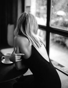black and white, black, and coffee Bild
