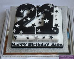 Image detail for -21st Birthday Cake | Birthday Cakes