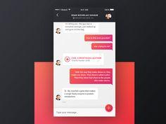 Chat/Messaging UI Inspiration — Muzli -Design Inspiration — Medium