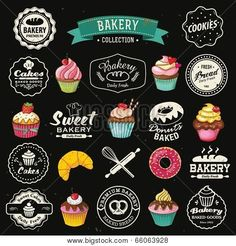 retro cupcake bakery - Google Search