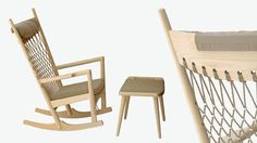 PP MØBLER / COLLECTION / EASY CHAIRS / PP124 - THE ROCKING CHAIR