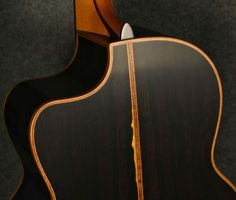 African Blackwood sides and back.